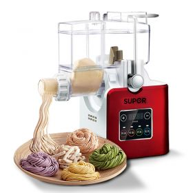 Supor MTJE01-180 Electric Spiral Dough Mixing Shaft /Kneading Blade Noodle Maker & Pasta Maker, 6 Discs Included
