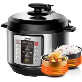 Midea MY-CD5026P 5L Multi-functional Dual Insert Programmable Timer Pressure Cooker