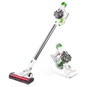 Proscenic P9 Cordless Vacuum Cleaner, 15KPa Powerful Suction Cordless Stick Vacuum, Handheld Bagless 2-in-1 Stick Vacuum with LED Headlight, Charging Base, Long Lasting, Lightweight