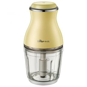 Bear QSJ-B02R1 0.6L Glass Food Processor Electric Multipurpose Food Blender and Mincer