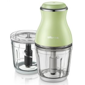 Bear QSJ-B02X5 Dual 0.6L Glass Food Processor Electric Multipurpose Food Blender and Mincer