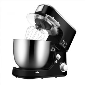 STELANG SC-236A Food Stand Mixer, 1000W 5L Electric Tilt-Head Dough Mixer with Stainless Steel Bowl, Dough Hook, Mixing Beater, Whisk, and Splash Guard