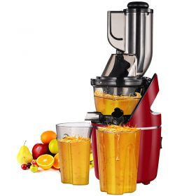 SKG A8S Upgraded Multi-functional Wide Feeding Chute Anti-Oxidation Auger Masticating Slow Juicer