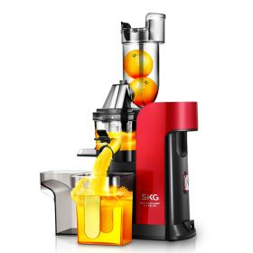 SKG A9 New Generation Multi-functional Wide Feeding Chute Anti-Oxidation Auger Masticating Slow Juicer