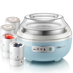 Bear SNJ-C10H1 Smart Yogurt Maker with Stainless Steel & 4 Ceramic Insert