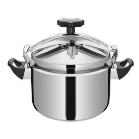 TIANXI CS2 Series Food-grade Stainless Steel Pressure Cooker Large Capacity Explosion-Proof (Universal Heat Source included Induction Cooker) Heavy Duty Pressure Cooker