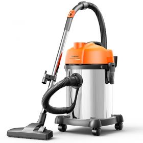 YILI YLW6201 Home/Commercial 18L Wet/Dry/Blow 3 in 1 Professional Vacuum Cleaner, 1200W Pure Copper Motor, 20,000pa High Suction with HEPA Filtration System Included Standard Accessories