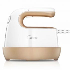 Midea YSD05A1 2 in 1 Flat and Hang Dry and Steamer Ironing Steam Iron / Garment Steamer Portable for Travel De-Wrinkle Fabric