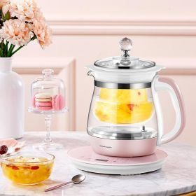Little Pumpkin YSH-D02 Multi-functional 1.5 Liter Intelligent High Boron Glass herb Tea Kettle with Stainless Steel Infuser